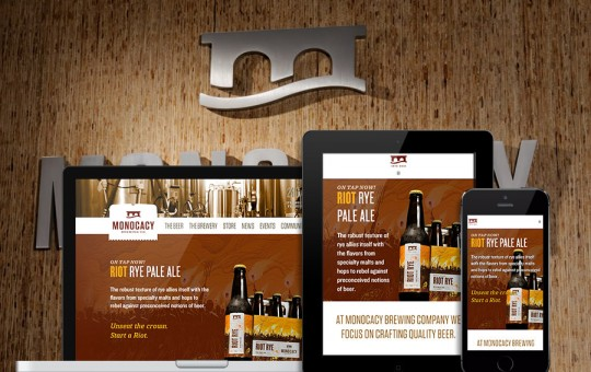 Monocacy Brewing Launches a New Website