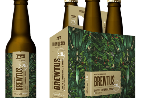 Monocacy Brewing Company releases 'Brewtus' Coffee Imperial Stout for Ides of March